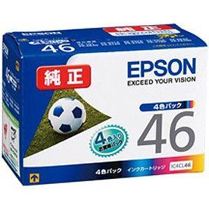 IC4CL46 エプソン 純正プリンタインク(4色セット) EPSON