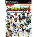 コナミデジタルエンタテインメントプロ野球スピリッツ4【PS2用】【税込】 VW346J1プロヤ...