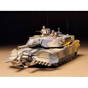 1/35 ミリタリーミニチュアシリーズ アメリカ戦車 M1A1 マインプラウ 【35158】 タミヤ