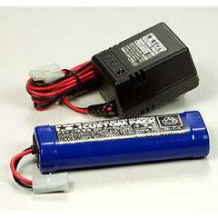 ニカドバッテリー 7.2V カスタムパックと充電器(タミヤ)