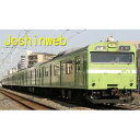 グリーンマックス JR西日本 103系直流通勤形電車 高運転台・体質改善車 ウグイス色 4両基本セット[Nゲージ鉄道模型]