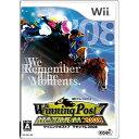 コーエー Winning Post 7 MAXIMUM2008【Wii用 予約商品】【税込】 RVL-P-RUPJウイポ2008 [RVL...