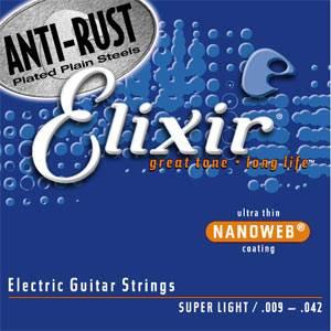 12002(ELIXIR)【税込】 エリクサー エレキギター弦(.009-.042) Elix…