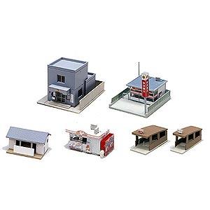 [鉄道模型]カトー (Nゲージ) 23-417 駅前施設セット