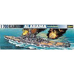 1/700 アメリカ海軍 戦艦 アラバマ【WLB608】 ハセガワ