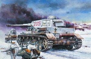 ミリタリー, 戦車 172 WW.II IVG DR7278