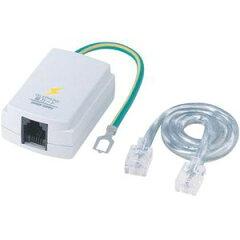 TEL-DSLSP【税込】 サンワサプライ テレフォン雷ガード(12Mbps/ADSL対応) [TELDSLSP]【返品種別A】【RCP】