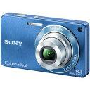 【送料無料】★ソニー デジタルカメラ(ブルー)SONY Cyber shot(サイバーショット)W350【税込...