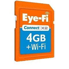 EFJ-CN-4G【税込】 Eye-Fi Eye-Fi Connect X2 4GB アイファイ コネクト X2 [EFJCN4G]【返品種別A】【2sp_121122_yellow】【送料無料】