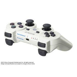 【PS3】ワイヤレスコントローラ DUALSHOCK 3(クラシック・ホワイト) 【税込】 ソニー・コンピュータエンタテインメント [CECH-ZC2JLW]【返品種別B】【送料無料】【RCP】