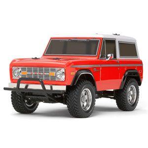 1/10 電動RC組立キット フォード ブロンコ 1973 CC-01