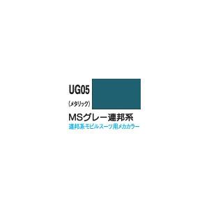 新ガンダムカラー MSグレー連邦系(メタリック)【UG05】 GSIクレオス