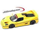 【メイクアップ】1/43 フェラーリ F50 スーパーチャージド・モディファイ JMB Racing イエロー
