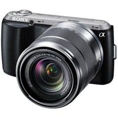 ソニー デジタル一眼カメラ「NEX-C3」ズームレンズキット(ブラック)