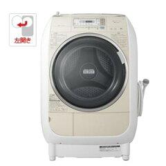 BD-V3400L-C【税込】 日立 9.0kg ドラム式洗濯乾燥機【左開き】ビッグドラム