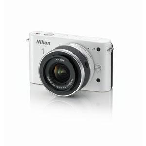 N1J1-LK-WH【税込】 ニコン 「Nikon 1 J1」標準ズームレンズキット(ホワイト) [N1J1LKWH]【返品種別A】【送料無料】