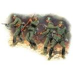 1/35 独・歩兵1941-42・4体入り 東部戦線【MB3522】 マスターボックス