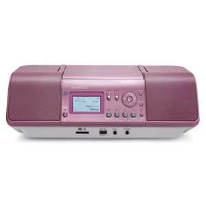 CLX-30-P ケンウッド SD/USB対応CDラジオ(ピンク) KENWOOD [CLX30P]