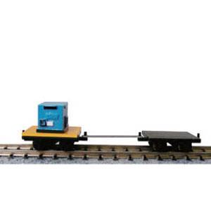 [鉄道模型]津川洋行 【再生産】(N) 14017 保線用トロッコ 平トロッコ(2両入・ウェルダー1個付)