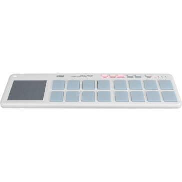 NANOPAD2-WH コルグ MIDIコントローラー (ホワイト) KORG nanoPAD2 [NANOPAD2WH]【返品種別A】