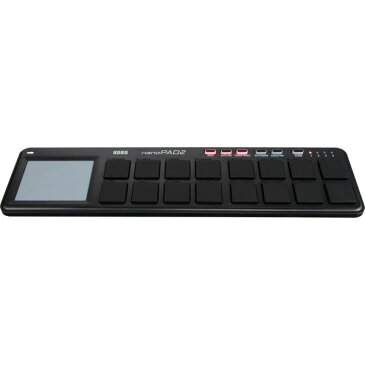 NANOPAD2-BK コルグ MIDIコントローラー (ブラック) KORG nanoPAD2 [NANOPAD2BK]【返品種別A】