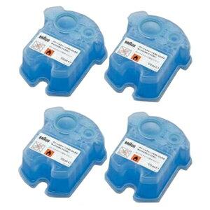 ブラウン クリーン&リニューシステム専用洗浄液カートリッジ(4個入り)