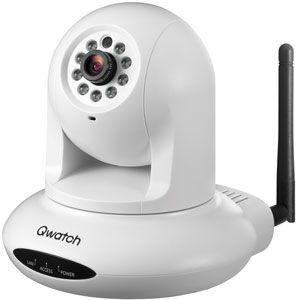 TS-WPTCAM【税込】 I/Oデータ 有線/無線LAN対応 ネットワークカメラ IODATA Qwatch(クウォッチ) [TSWPTCAM]【返品種別A】【送料無料】【RCP】