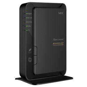 PA-WG600HP【税込】 NEC 11n/a/g/b対応 300(5GHz)&300(2.4GHz)Mbps 無線LANルータ(親機単体) Aterm WG600HP [PAWG600HP]【返品種別A】【送料無料】【RCP】