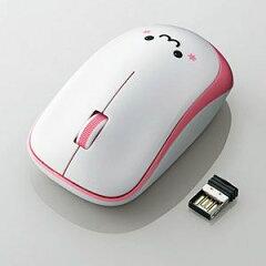 M-IR06DRPN【税込】 エレコム 2.4GHzワイヤレス IR LEDマウス(ピンク) [MIR06DRPN]【返品種別A】【RCP】