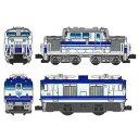 [鉄道模型]バンダイ Bトレインショーティー DD51形ディーゼル機関車+EF64形電気機関車(ユーロライナー)