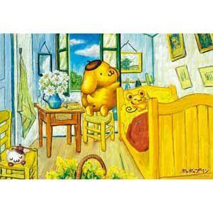 Sanrio Characters ポムポムプリン「アルルの寝室」 300ピース 【税込】 ビバリー [ビバリー33-076ポムポムプリンアルル]【返品種別B】
