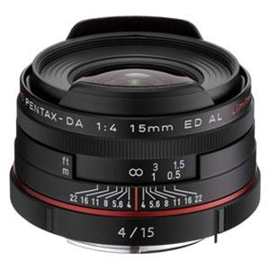 ペンタックス DA15mmF4ED AL Limited