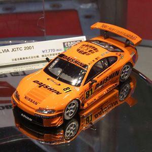 車, ミニカー・トイカー 143 DAISHIN ADVAN SILVIA JGTC 2001 No.81 44968 EBBRO