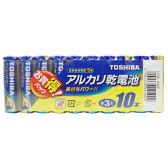 LR6L10MP【税込】 東芝 アルカリ乾電池単3形 10本パック TOSHIBA [LR6L10MP]【返品種別A】【RCP】