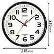 IQ-800J-1JF【税込】 カシオ 掛時計 [IQ800J1JF]【返品種別A】【RCP】