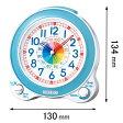 KR887L【税込】 セイコークロック 目覚まし時計 知育時計 [KR887L]【返品種別A】【RCP】