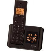 JD-BC1CL-T【税込】 シャープ デジタルコードレス留守番電話機 ダークブラウン SHARP [JDBC1CLT]【返品種別A】【送料無料】【RCP】