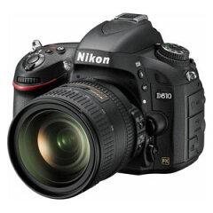 D610LK24-85【税込】 ニコン デジタル一眼レフカメラ 「D610」24-85 VR …