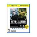 【PS Vita】METAL GEAR SOLID HD EDITION PlayStation(R)Vita the Best コナミデジタルエンタテインメント [VN009-J2メタルギア]