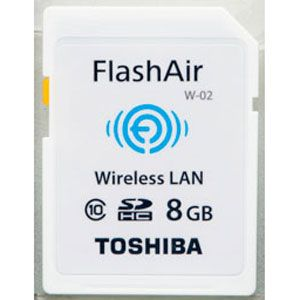 無線LAN搭載SDHCカード「FlashAir」シリーズ