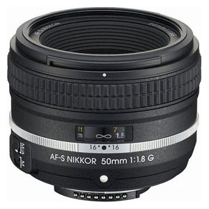 ニコン AF-S NIKKOR 50mm f/1.8G(Special Edition)