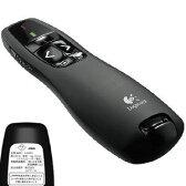 R400t【税込】 ロジクール 赤色レーザーポインター(ブラック) Logicool Wireless Presenter r400t [R400T]【返品種別A】【送料無料】【RCP】