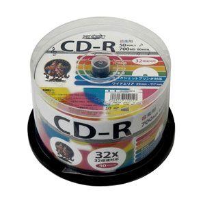 HDCR80GMP50 HIDISC 音楽用CD-R80分 50枚パック  [HDCR80GMP50]