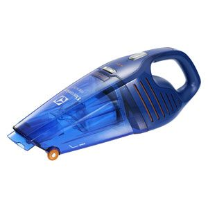 ZB5104WD エレクトロラックス 紙パックレス式ハンディクリーナー充電式 乾湿両用タイプディープブルー 【掃除機】Electrolux Rapido(ラピード ウェットアンドドライ) [ZB5104WD]