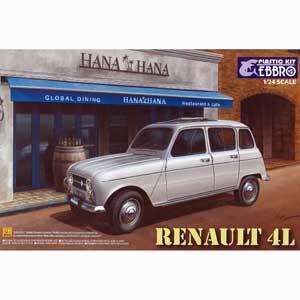 車・バイク, その他 124 Renault 4L25002 EBBRO