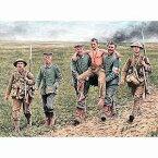 1/35 英独・両兵士6体-負傷兵搬送-英独兵各3体ソンム戦 1916WW-I【MB35158】 マスターボックス