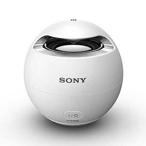 SRS-X1-W【税込】 ソニー Bluetooth対応ワイヤレススピーカーシステム(ホワイト)お風呂でも使える防水タイプ SONY [SRSX1W]【返品種別A】【送料無料】【RCP】
