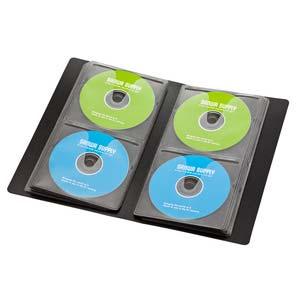 サンワサプライ ブルーレイディスク ファイル ブラック