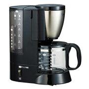 コーヒー メーカー ステンレス ブラック