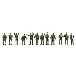 [鉄道模型]トミーテック (N) ザ・人間074 自衛隊の人々 【税込】 [ザ・ニンゲン074 ジエイタイノヒトビト]【返品種別B】【RCP】
